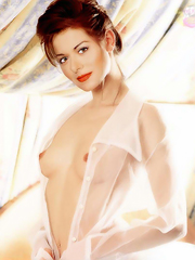 Debra Messing nude, naked, porn, movie, photo